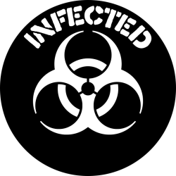 infected website